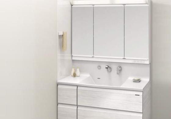 暮らしの質を高める洗面化粧台〈エリーナ〉