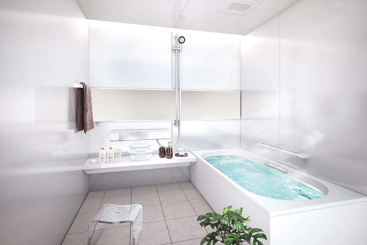 ラ・フォンテーヌ・デュ・ボナールⅠAタイプ/浴室完成予想図